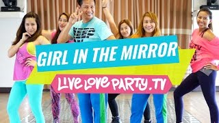 Girl in the Mirror [WATCH ON COMPUTER] | Zumba® | Dance Fitness | Live Love Party(Watch this on the computer because it has been blocked on mobile due to song copyright. If you liked this video, don't forget to give it a thumbs up and subscribe ..., 2016-09-16T03:29:14.000Z)