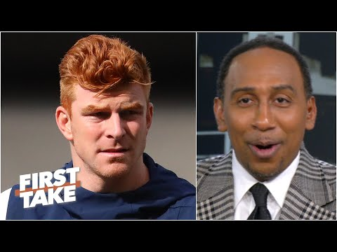Stephen A.'s expectations for the Cowboys under Andy Dalton? 'How about LOW!' | First Take
