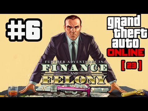 6) GTA Online Free Roam Finance & Felony Gameplay | Downed Plane Cargo [23]