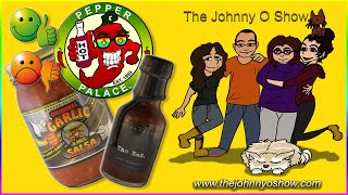 Ep. #560 X-Hot Garlic Salsa & The End   Pepper Palace Review