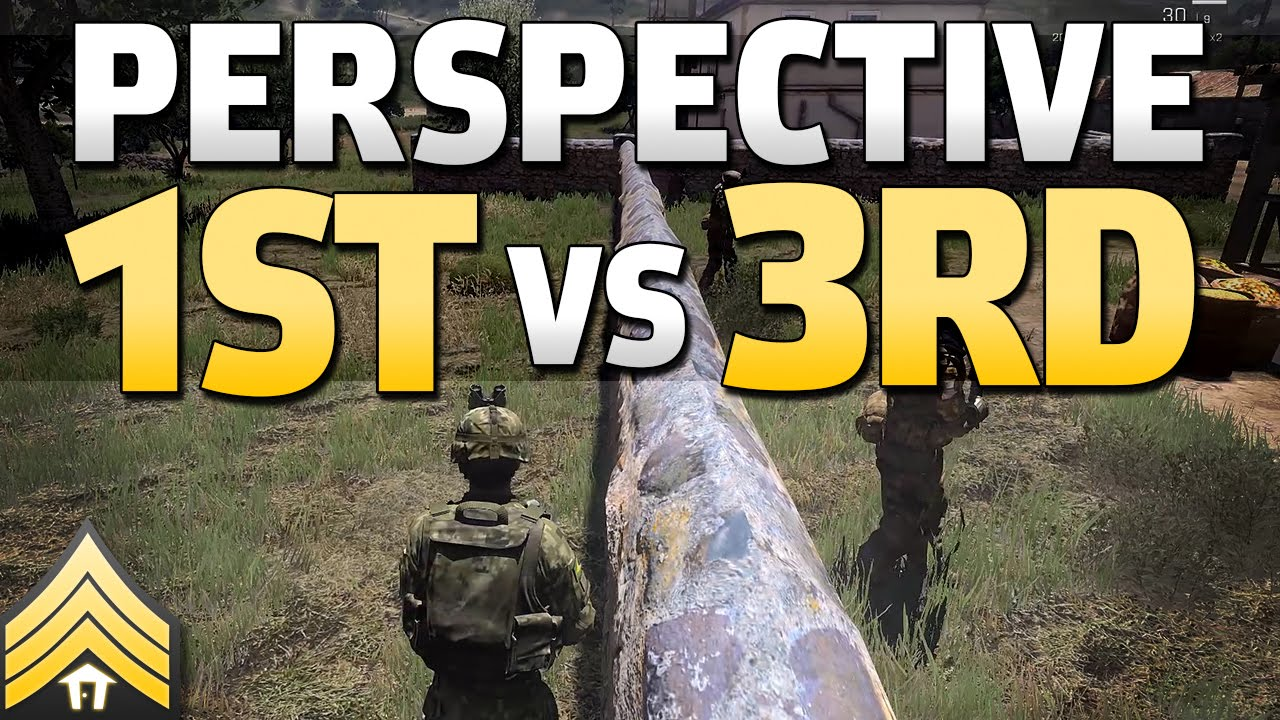 First vs Third-Person in Arma 3 (and DayZ) - YouTube