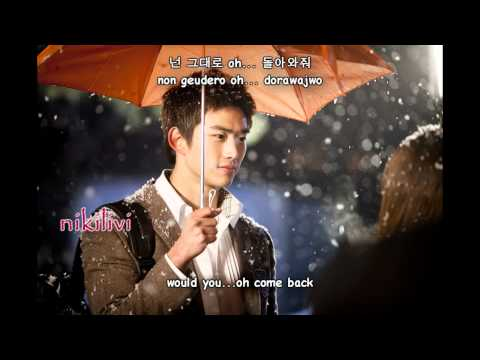 Dream High - Junsu (2PM) & Lim Jeong Hee - Don't Go (가지마) [hangul+romanization+eng sub]
