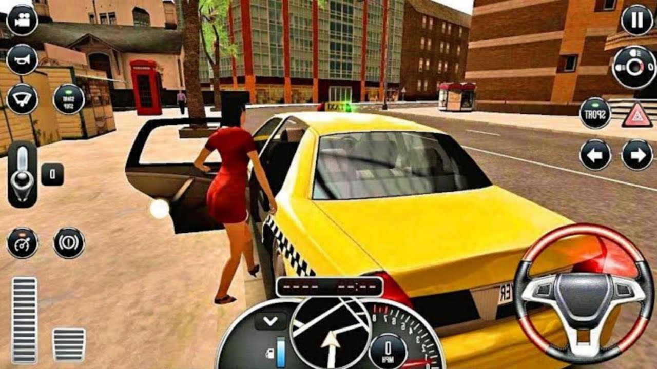 Taxi Sim 2020 #5। Taxi Sim UPDATE New City Los Angeles & Range Rover Velar। Android Gameplay। #SM