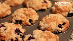 Guilt Free Blueberry Muffins Recipe