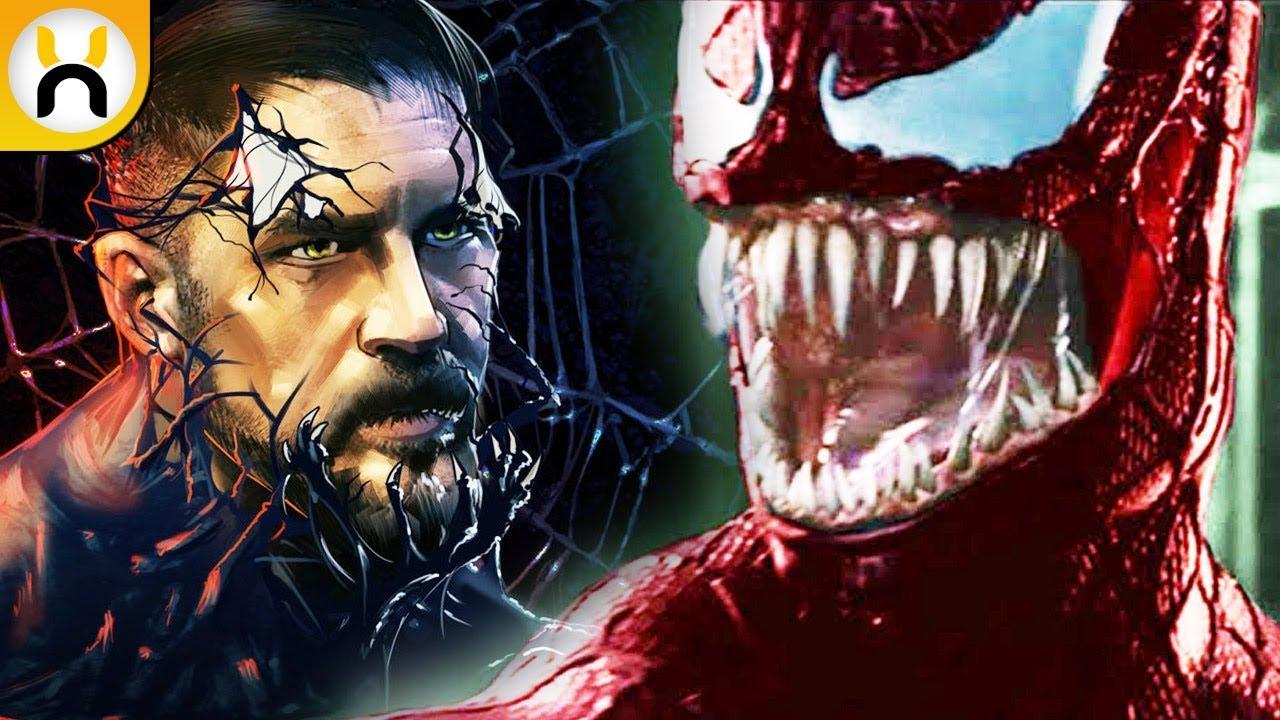 Tom Hardy Venom Training Carnage Teased Youtube