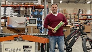 Electric Bike Battery Replacement & Repair Service