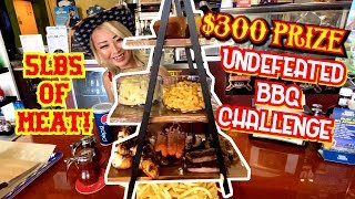 $300 CASH PRIZE UNDEFEATED BBQ CHALLENGE!! ft. MY WORKOUT PLAN #RainaisCrazy
