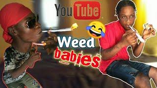 SKILLIBENG- WEED BABY😂😂😂🚬🚬 (NOTCH GAD TV FT KASH IMAGE