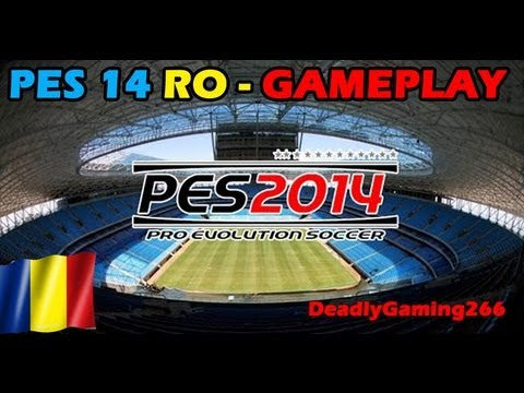 Pro Evolution Soccer 2014 Gameplay romania (HD)