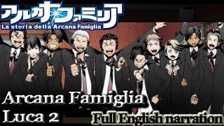 La Storia Della Arcana Famiglia - Luca part 2 (English narration) (graphic audiobook)
