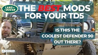 Modified Defender 90 TD5