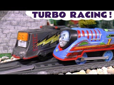 Thomas & Friends Turbo Speed Thomas vs Turbo Speed Diesel Race toy story TT4U