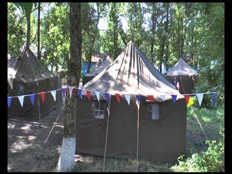 В Тбилисском районе открылся детский палаточный лагерь Казачий кордон (ТРКМетроном-3)