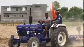Farmtrac 60 EPI Latest Model Demo  On Disc Harrow | ਕਿਸਾਨ ਵੀਰ ਦੇ ਖੇਤ ਵਿਚ ਡੈਮੋ | Farmtrac 60  2017