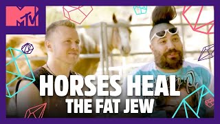 The Fat Jew & Spencer Try Not To Get Rejected By Horses 🐎 | Spencer Pratt Will Heal You 🔮| MTV