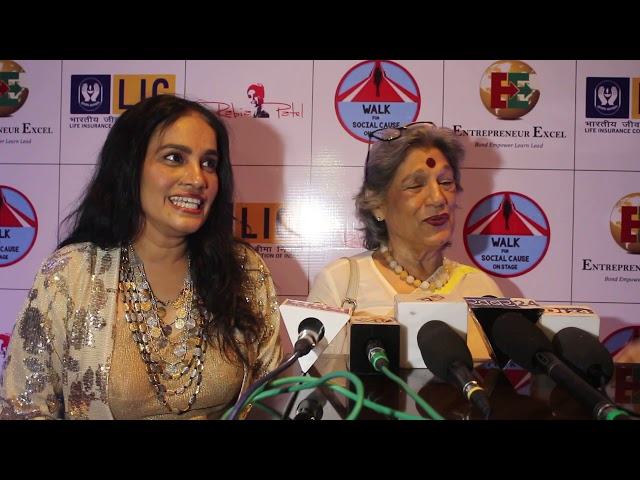 Walk For A Cause, MAA TUJHE SALAAM Award Function at JW Marriott 2