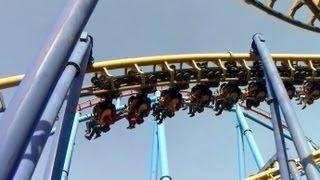 Batman The Ride off-ride HD Six Flags México