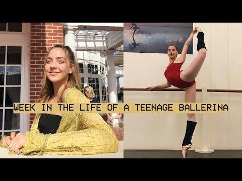 week in the life of a teenage ballerina