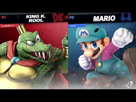 RtDD3 - Pools - KnucklesUp (King K. Rool) vs KLP (Mario)