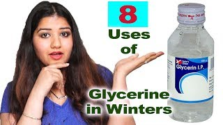 8 Amazing uses of Glycerin in winters/ ग्लिसरीन के फायदे