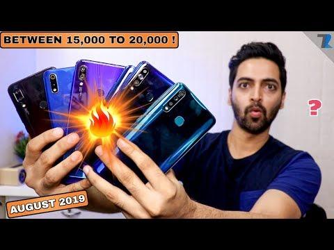 Top Smartphones To Buy Between 15,000 To 20,000 [AUGUST 2019]