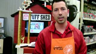 Tuff Shed Home Depot Race For The Cup
