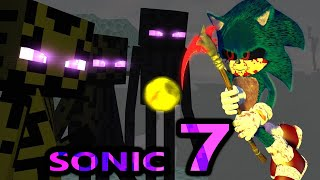 SONIC MOVIE IN MINECRAFT! Episode 7 (official) Minecraft Animation Series