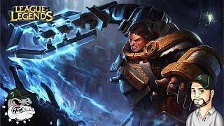 League Of Legends - Garen Juggernaut Rework OP season 5.16 [PT-BR]