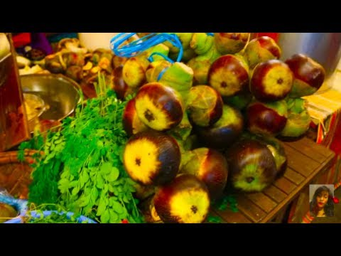 Cambodian Market Food Compilation In Phnom Penh - Art Of Living In The Market - Asian Market Food