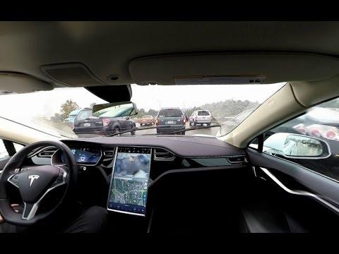 360 Video - Tesla Autopilot