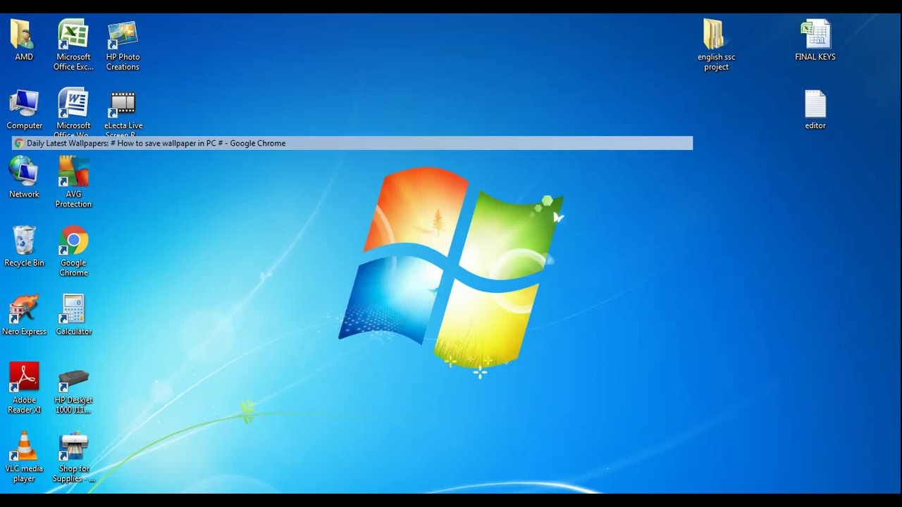 How To Download Wallpaper In Pc Desktop Or Laptop