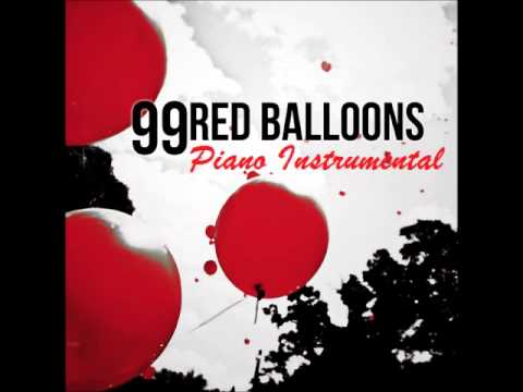 99 Red Balloons Piano Instrumental Adam Young Owl City Cover