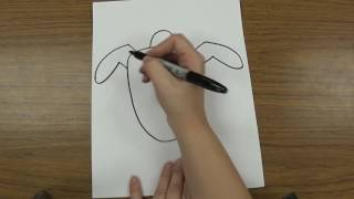 How to Draw a Sea Turtle very Simple Drawings