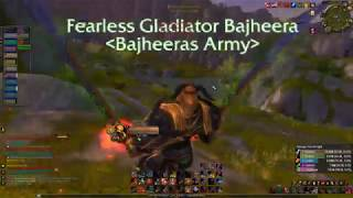 Bajheera - INSANE 51-0 Rank 1 Fury Warrior  AB BEATDOWN - WoW Legion 7.2 Warrior PvP