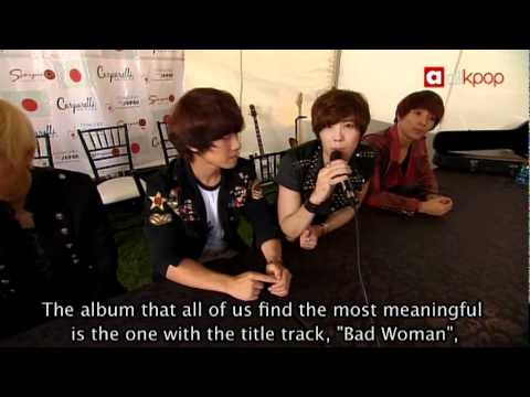 [Exclusive] Interview with F.T. Island at Concert for Japan