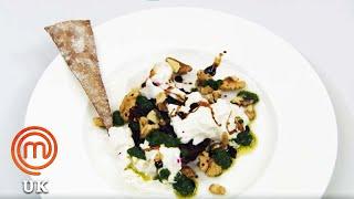 Burrata and Beetroot Tartare | MasterChef UK | MasterChef World