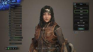 Monster Hunter World Character Creation: Making A Huntress
