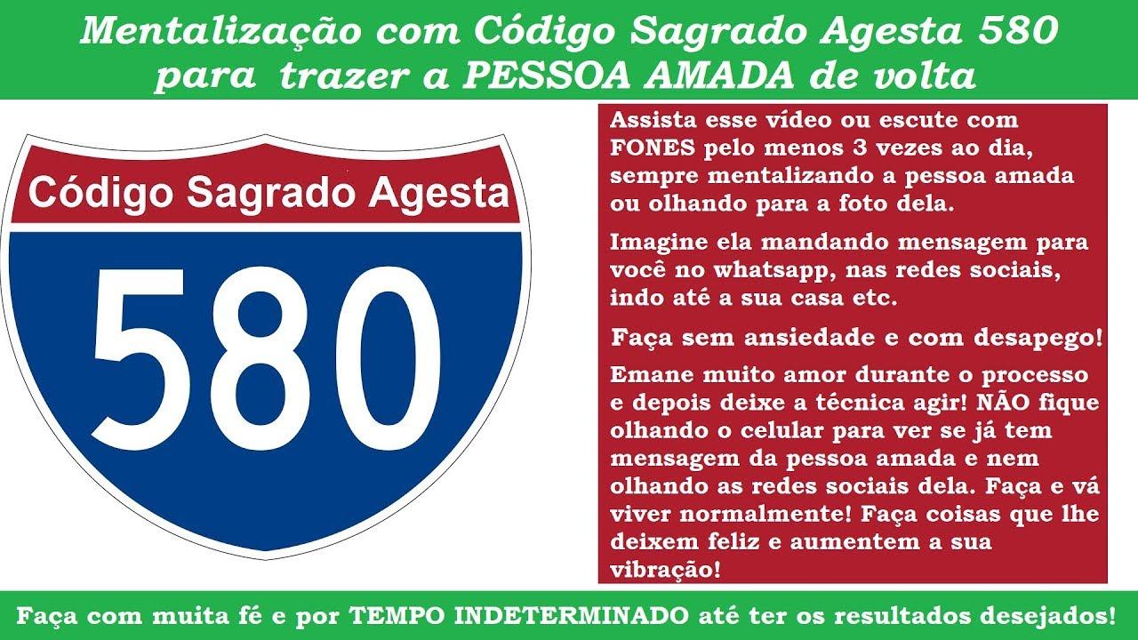 Download Traga A PESSOA AMADA de volta - Código Agesta 580 - RESULTADOS IMEDIATOS!