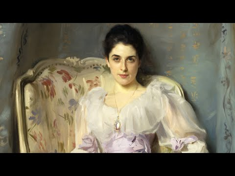 john-singer-sargent---paintings-by-sargent-in-the-scottish-national-gallery,-edinburgh,-scotland.