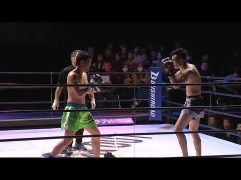 中尾満vs番長兇侍 ROAD TO KNOCK OUT vol.3 第1試合 66.68kg契約