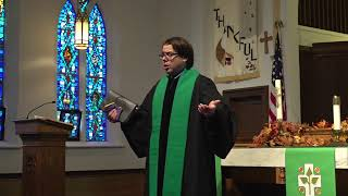 Sunday Worship Service - November 15, 2020, Pastor Scott Davis, Lector Linda Hohf