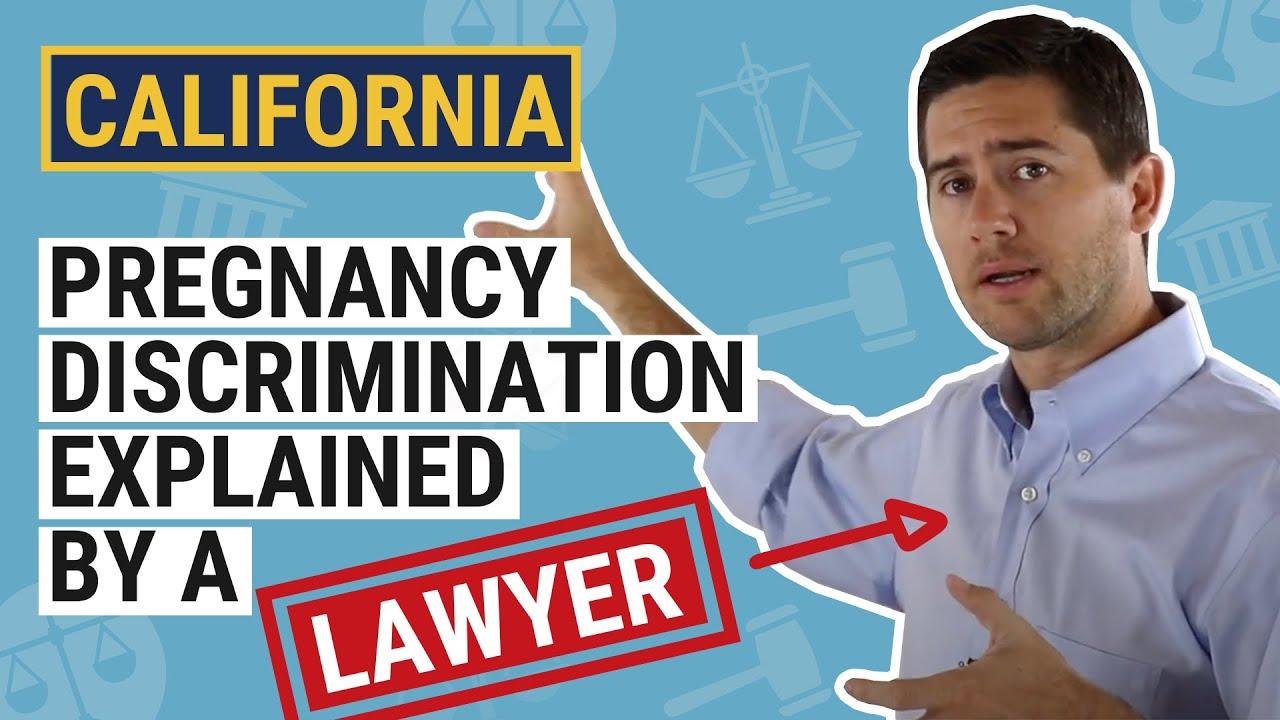 Pregnancy Maternity Leave Lawyer Employment Law California