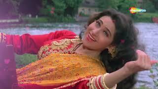 करिश्मा कपूर और सलमान खान का सुपरहिट रोमांटिक गाना - अभी सांस लेने की फुर्सत - Jeet Hindi Movie Song