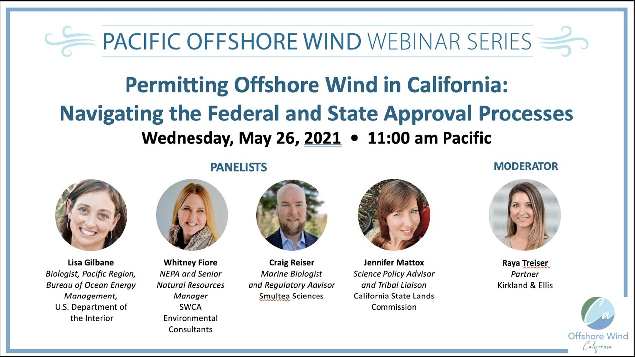 Permitting Offshore Wind in California: Navigating the Federal and State Approval Processes