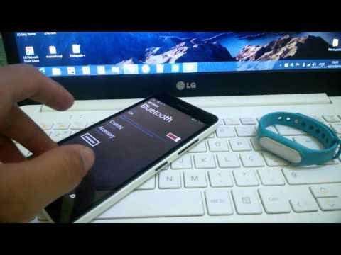 Review Xiaomi Mi Band no Windows Phone  em Português - Brasil