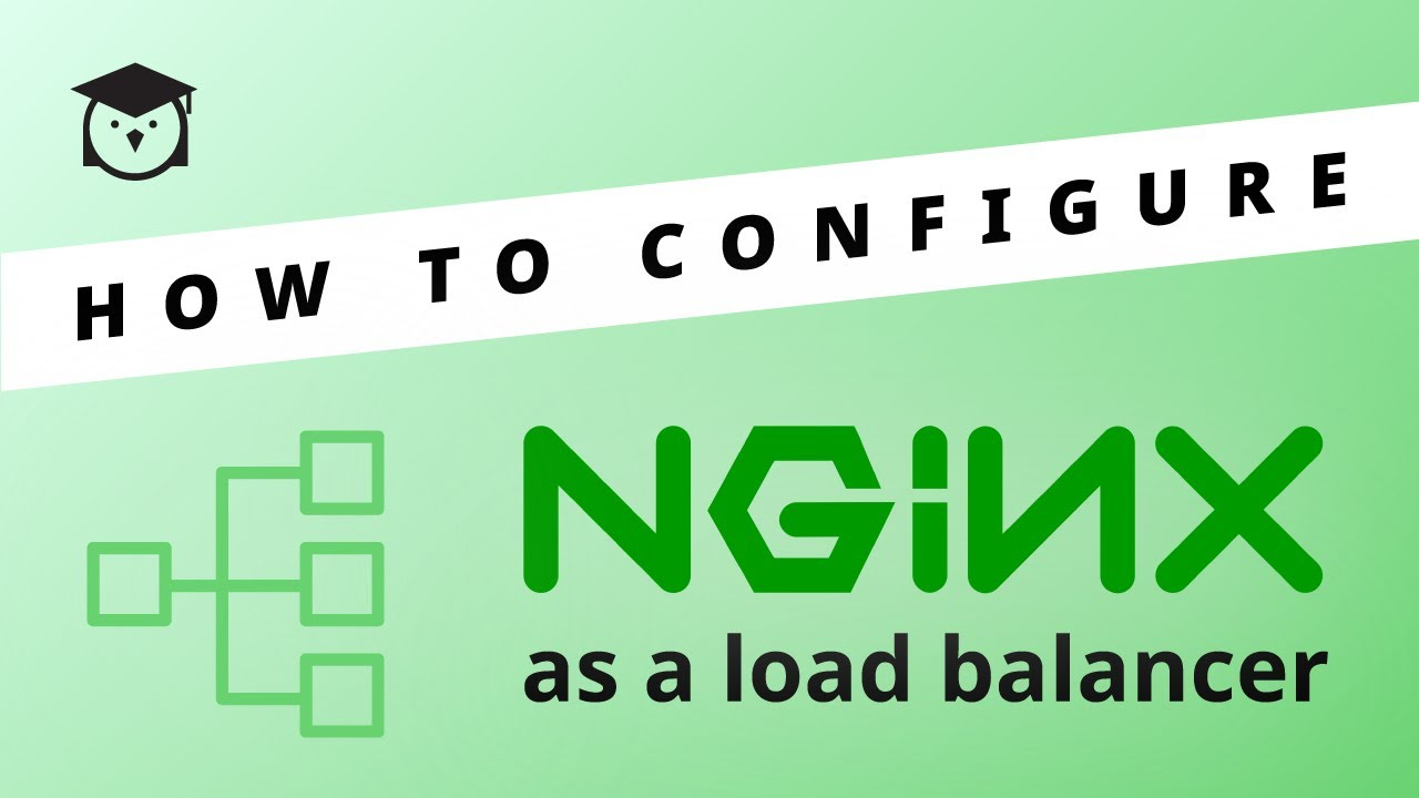 How to configure NGINX as a load balancer