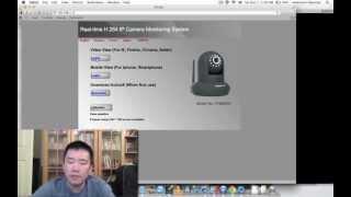 Foscam FI9820W - Problem Viewing