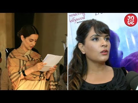 Kangana Clicked On The Sets Of 'Manikarnika' | Richa Chadha On Being An Outsider In Bollywood