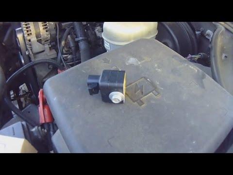 Service Air Bag Sensor 2006 Chevy Silverado - YouTube