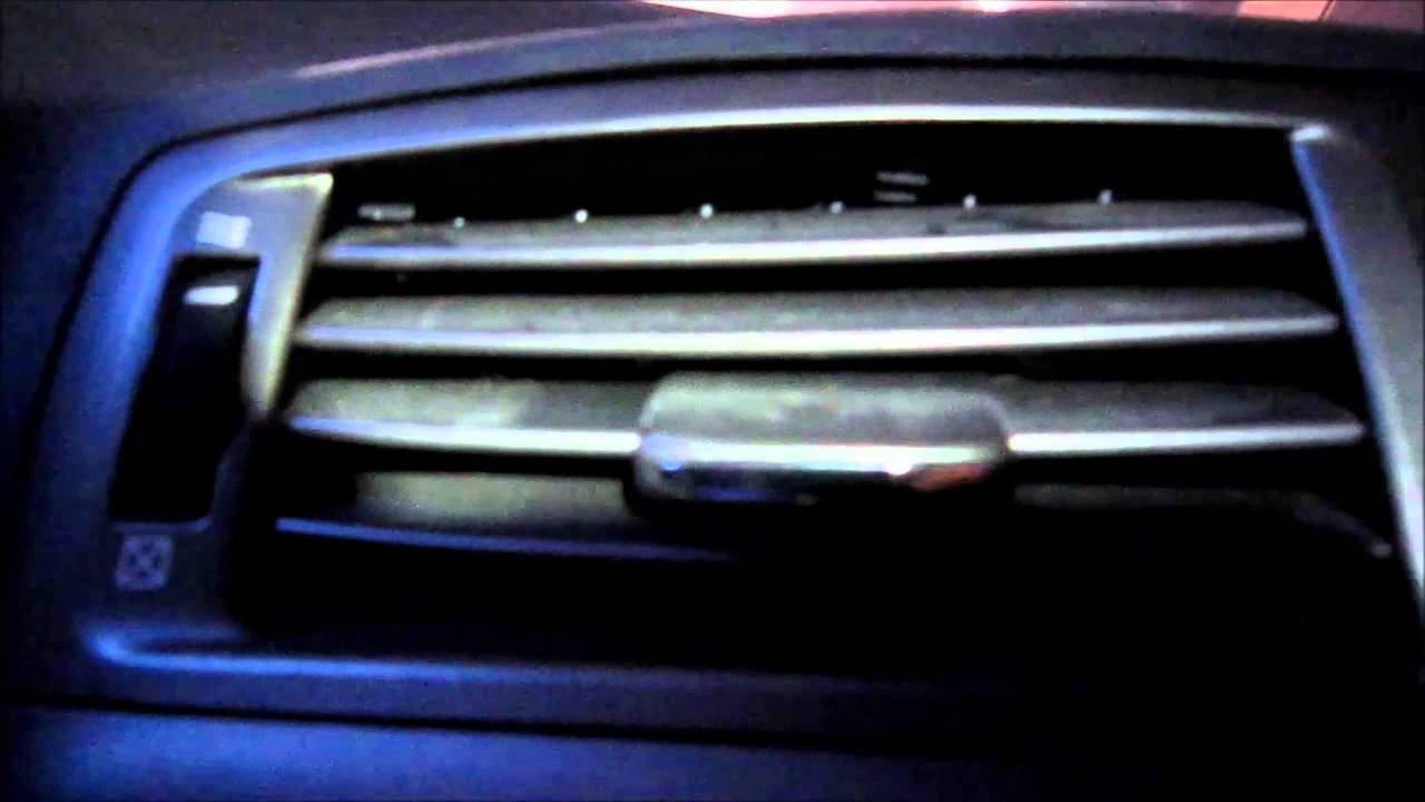 how to remove dash air vent lexus is250 is350 center dash air vent